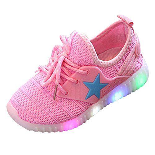 Moonker Baby LED Light Shoes for 1-8