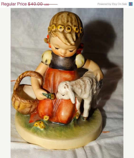 Hey, I found this really awesome Etsy listing at https://www.etsy.com/listing/201832021/10-off-today-goebel-hummel-1960-favorite