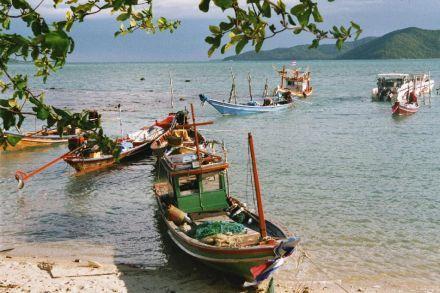 Nice little boats on Koh Samui, Thailand