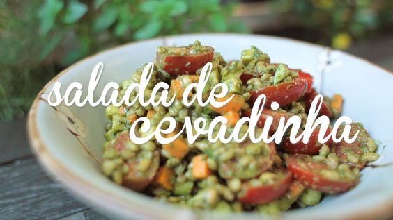 Salada de cevadinha | Cozinha Namu #06