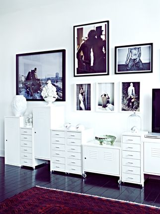 frames + white
