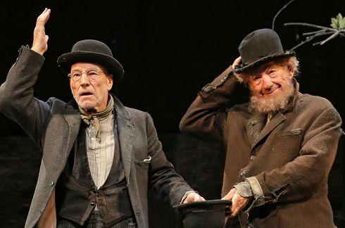 Sir Patrick Stewart and Sir Ian McKellan — Waiting for Godot, No Man's Land | The 34 Hottest Broadway Hunks Of 2013