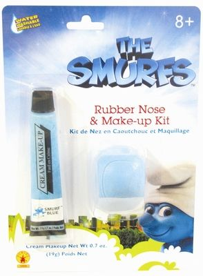Smurf Nose & Makeup Kit