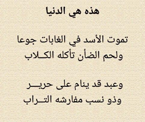 من ديوان الشافعي Poetry Math Arabic Calligraphy