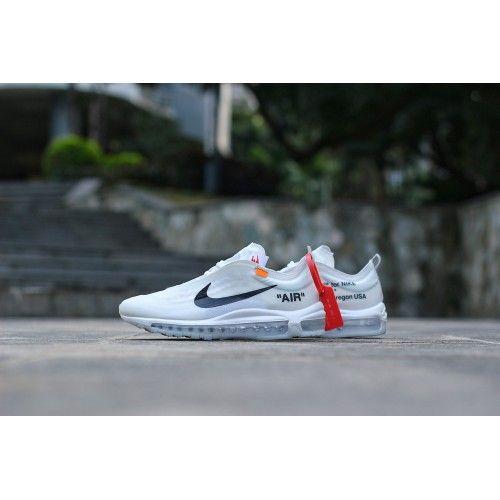 escarabajo paño Rey Lear  Cheap OFF White X Nike Air Max 97 OW White Sneakers Online Outlet | Nike  air max 97, White sneakers, Sneakers
