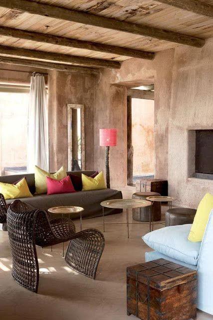 Felling de casa en general con pisos en cemento pulido for Paredes de cemento