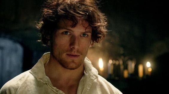 "I think I'm pinting it again XD Jamie Fraser ""Je suis Prest"" Clan Fraser Motto. #Outlander #SamHeughan"