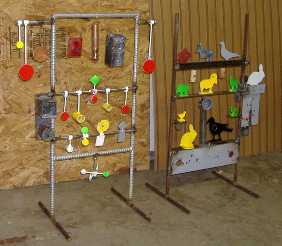 Homemade Shooting Target Ideas Steel Field Targets