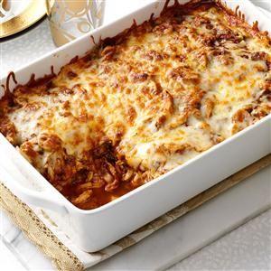 13x9 Casserole Recipes                     -                                                   Favorite classic dishes like pizza, spaghetti, grilled cheese