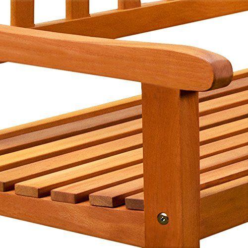 Amazon De Holz Eckbank Gartenbank Holzbank Sitzbank Bank