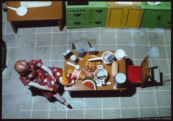 Laurie Simmons | New Kitchen/Aerial View/Seated | The Met: