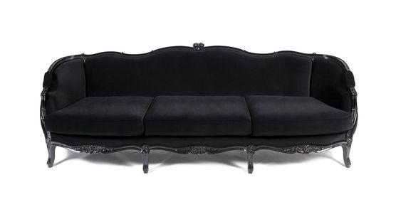 Fancy black sofa designs for beautiful living room : beautiful ...