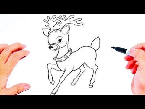 رسومات بالرصاص تعليم الرسم رسم غزالة بطريقة سهلة كيف ترسم غزالة Easy Drawings Youtube Art Fictional Characters Character