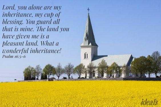 Psalm 16:5-6