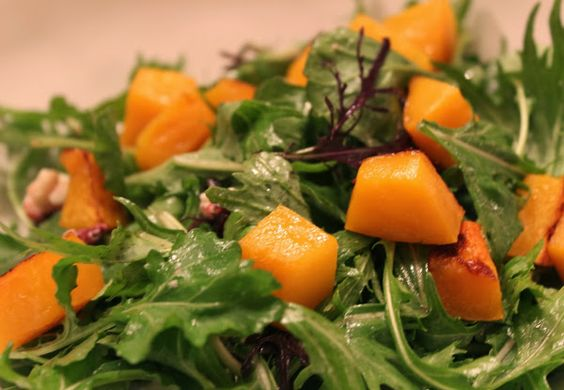Butternut Squash Salad with Pine Nuts & Arugula | 2014 Midwest Women'...