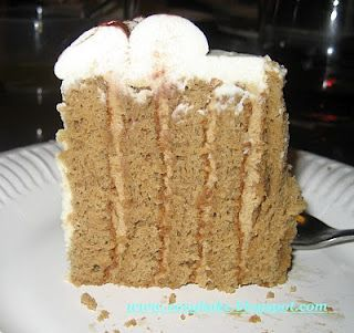 Coffee Layered Cream Cake | Layer Cake Cake Cake | Pinterest | Cream ...