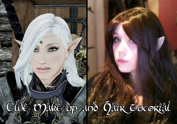 Elven Make up and Hair Tutorial~ ✿