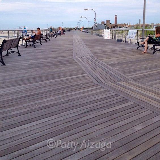Day 8 of #100happydays: Run on the boardwalk at Jones Beach #enjoyingthislife