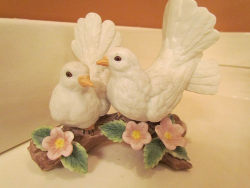Courtship Doves Home Interiors And Gifts Bird Figurine