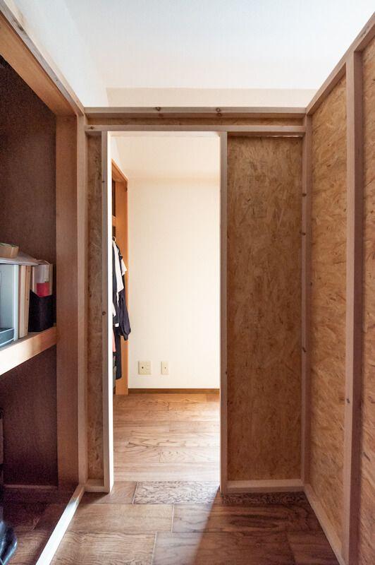部屋の中に小さな小屋を作る 書斎 ウォークインクローゼット 秘密