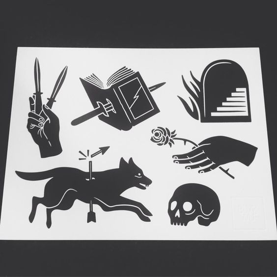 """Swallows&Daggers on Instagram: """"Checkout @blvkwlfusa for awesome prints like this one!"""""""