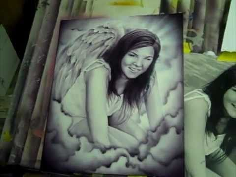 Airbrush Art Tribute.