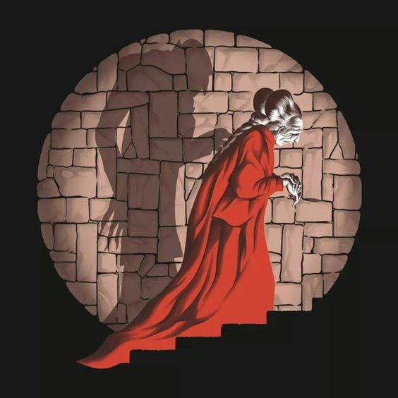Shadow Mismatch Tee from Tee Public.com -- Dracula, Nasferatu
