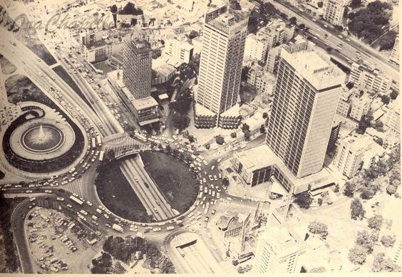 Plaza Venezuela. Años 70's