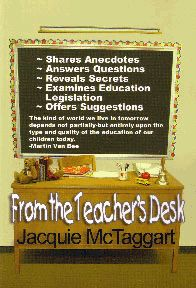 "The teacher's parent-teacher-conference ""bible."" Jacquie McTaggart"