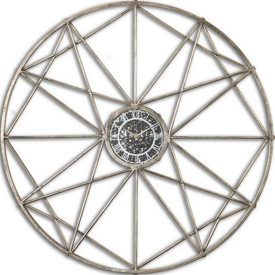 Uttermost Shoneah Geometric Wall Clock - 6416