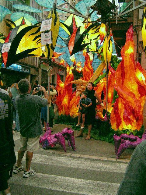 Catalunya's carre de Verdi  Festes de Gràcia
