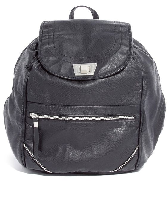 Image 1 of New Look Billie Twist Lock Backpack