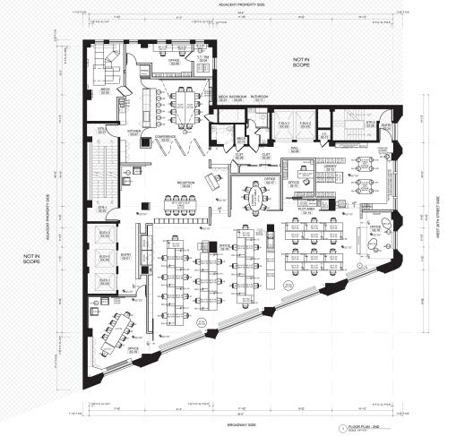 The icrave studio icrave design layout and studios for Office space floor plan creator
