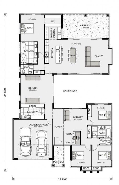 Mandalay 300 Custom Home Design G J Gardner Homes In 2020