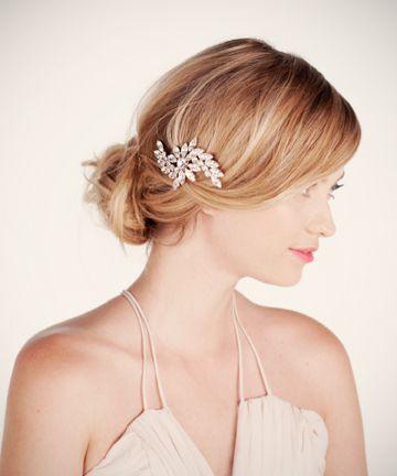 crystal swirl brooch bobbi    $130 #hair_inspiration