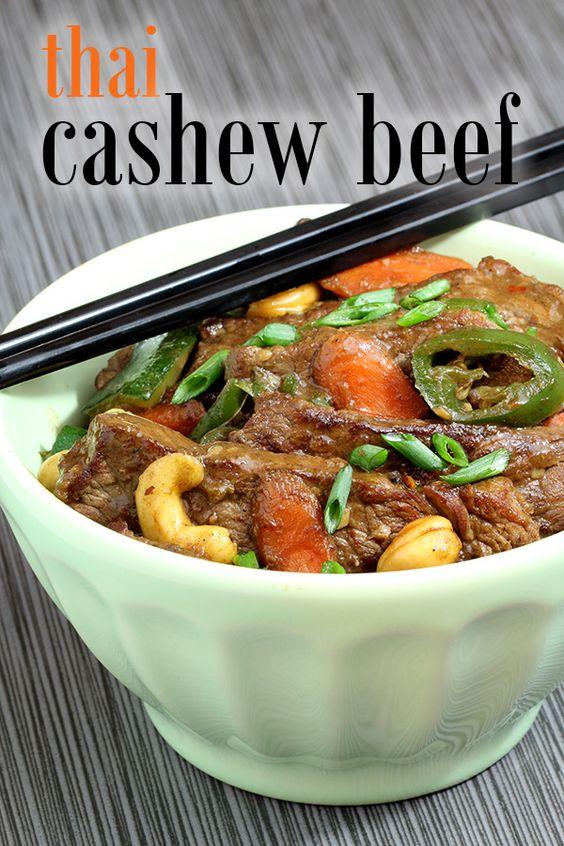 Cashew Beef Thai Stir Fry Recipe Creative Gluten Free