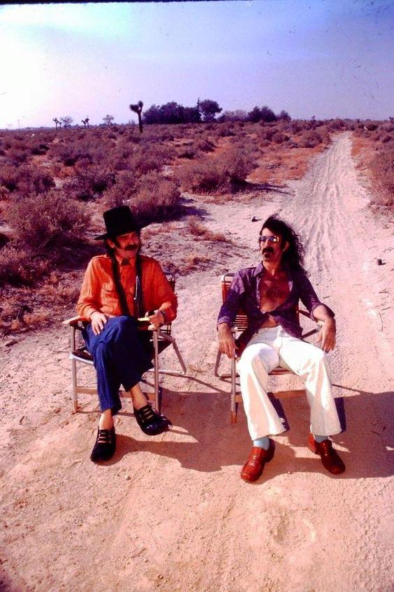 Frank Zappa and Captain Beefheart ~ Don Van Vliet