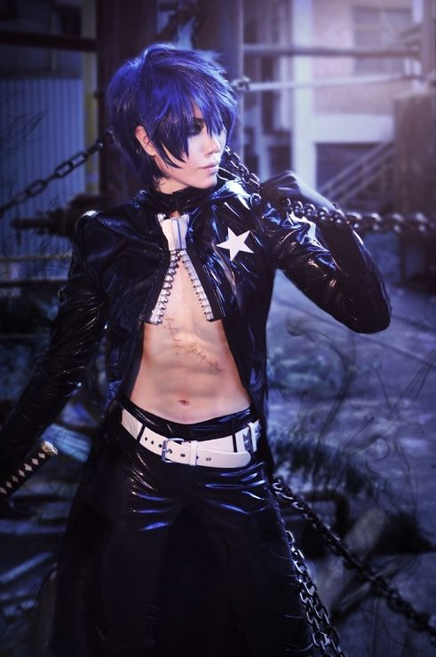 more Black Rock Shooter cosplay
