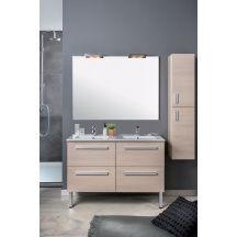 meuble 2 tiroirs 60 cm woodstock bois clair r f 126070562