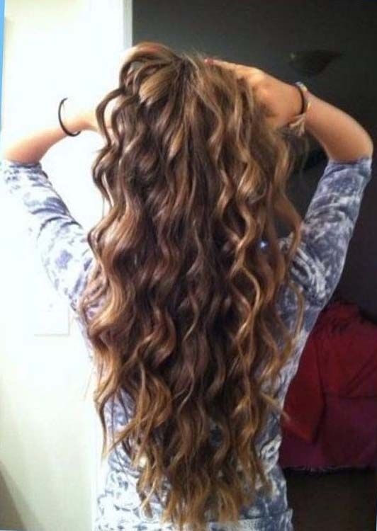 15 Most Popular Types Of Perms In 2021 Long Hair Perm Long Thin Hair Spiral Perm
