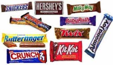 I finally found a big list of Candy Bar Awards. school-ideas