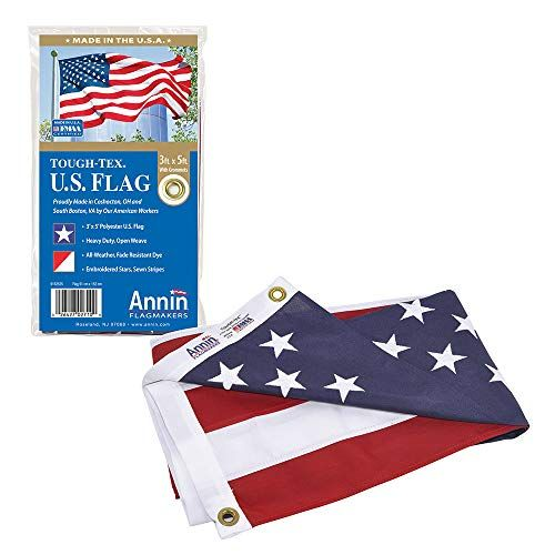 Annin Flagmakers Model 2710 American Flag 3x5 Ft Tough Tex The Strongest Longest Lasting American Flag Tough Flag