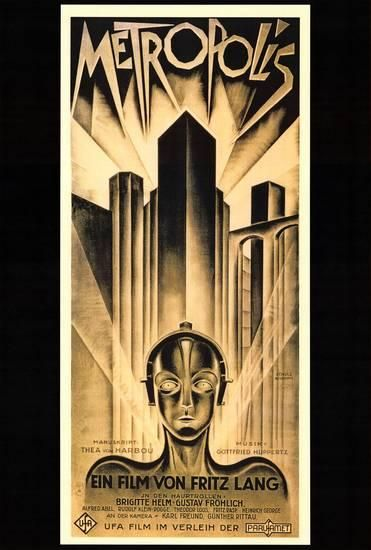 Metropolis Posters At Allposters Com Art Deco Posters Poster Art Iconic Movie Posters