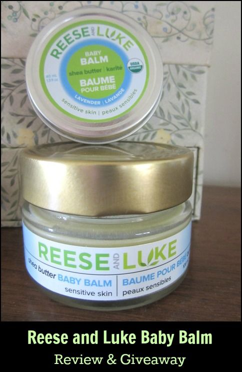 Reese and Luke Baby Balm Review & Giveaway