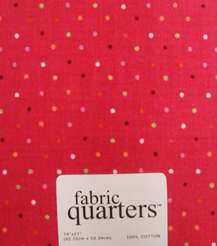 Fabric Quarters Assorted Fabric Pink