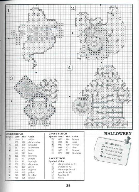 Gallery Ru Foto 25 The Big Book Of Holliday Brasileira Cross Stitch Holiday Cross Stitch Halloween Cross Stitch Patterns