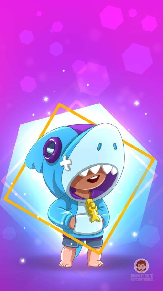 Brawl Stars Wallpapers Color For Fun Star Wallpaper Star Character Brawl