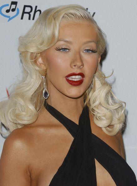 Christina Aguilera Photos: Clive Davis Pre-Grammy Party