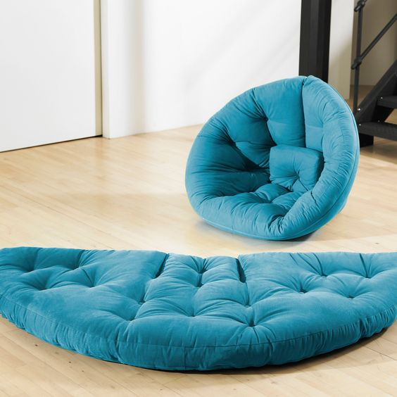Have to have it. Large Nest Tufted Sleeper Lounge Chair $349.99