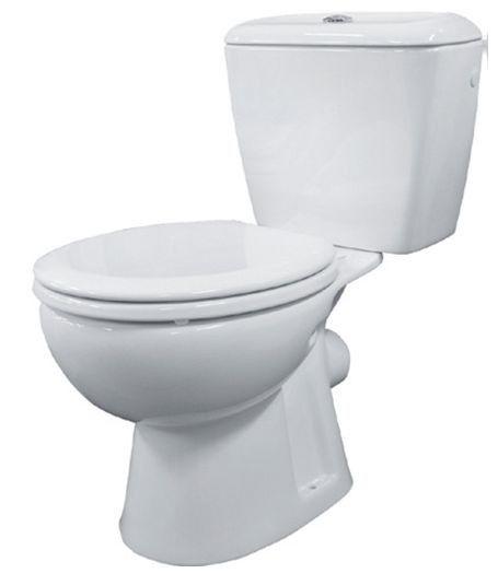 Wc pack forta geberit aansluiting h muur 19cm staand toilet toilet badkamer 114 euro - Kleuren muur toilet ...